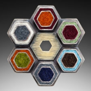 Hex Brooch