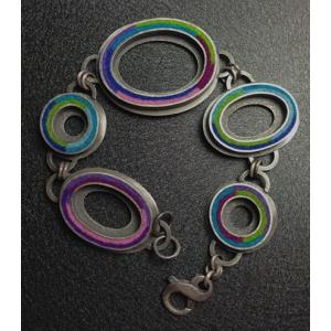 Donut Bracelet- Cool Palette