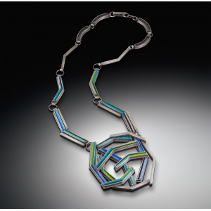 Layered Chevron Necklace