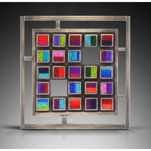 Square CPU Brooch/Pendant